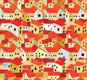 Spanish houses — Stock Vector