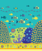 Havet mönster — Stockvektor