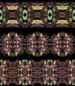 Decorative patterns — Stockvektor