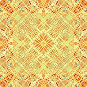 Seamless weaving golden decor — Stock Vector