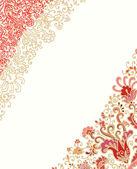çiçek dekorasyonu — Stok Vektör