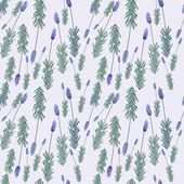 Lavender pattern — Stock Vector