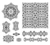 Aced векторные узоры — Cтоковый вектор