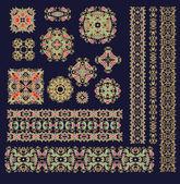 Decorative patterns — Stock Vector