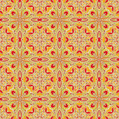Vector paisley pattern — Stock Vector