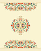 Seamless decorative oriental — Stock Vector