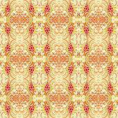 Inconsútil patrón decorativo oriental — Vector de stock
