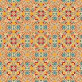 Seamless decorative oriental pattern — Stock Vector