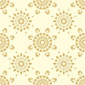Seamless laced pattern — Vecteur
