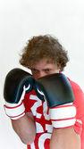 Bireysel boks dövüş sanatları — Stok fotoğraf