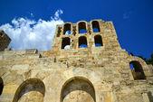 Roman Theater Herodus Atticus — Stock Photo