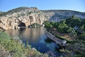 Vouliagmeni lake, Athens, Greece — Stock Photo