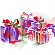 Colorful Gift Boxes — ストック写真