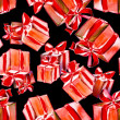 Gift Boxes Seamless Pattern — Stock Photo
