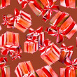 Gift Boxes Seamless Pattern — Foto de Stock