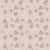 Paper hearts seamless pattern — Stock Photo