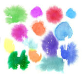 Watercolor Abstract Stains — Foto Stock