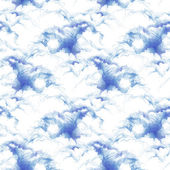Clouds seamless pattern — Stock Photo