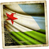 Flag of Djibouti  — Stock Photo