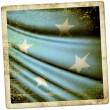 Stock Photo: Flag of Federated States of Micronesia