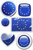 Flag of European Union  — Stock Photo