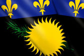 Flag of Guadeloupe — Stock Photo