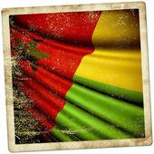 Gine bissau cumhuriyeti bayrağı — Stok fotoğraf