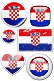 Flag of Croatia  — Photo
