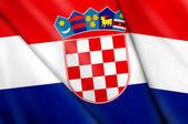 флаг хорватии — Стоковое фото