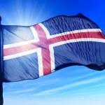 Flag of Iceland — Stock Photo #42154623