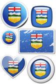 Flag of Alberta (Canada) — Stock fotografie