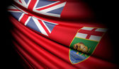 Flag of Manitoba (Canada) — Stock Photo