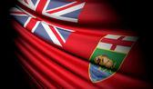 Flag of Manitoba (Canada) — Stock Photo