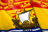Flag of New Brunswick (Canada)  — Stock Photo