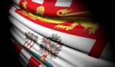 Flag of Prince Edward Island (Canada) — Stock Photo