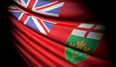 Flag of Ontario (Canada) — Foto Stock