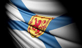 Flag of Nova Scotia (Canada) — Stock Photo
