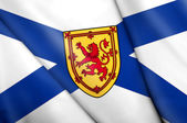 Flag of Nova Scotia (Canada)  — Stock Photo