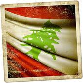 Vlag van Libanon — Stockfoto