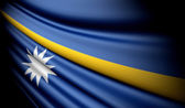 Flag of Nauru  — Stock Photo
