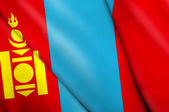 Flag of Mongolia  — Stock Photo