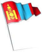 蒙古的旗子 — ストック写真