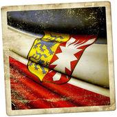Flag of Schleswig-Holstein (GER) — Stock Photo