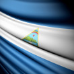 Flag of Nicaragua — Stock Photo