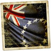 Bandera de islas cook — Foto de Stock
