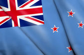Flag of Ross Dependency (NZ)  — Stock Photo