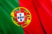 Bandera de portugal — Foto de Stock