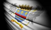Flag of Saint Barthelemy  — Stock Photo