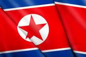 Flag of North Korea  — Stock Photo
