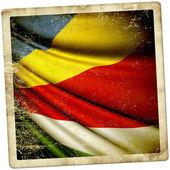 Bandera de seychelles — Foto de Stock